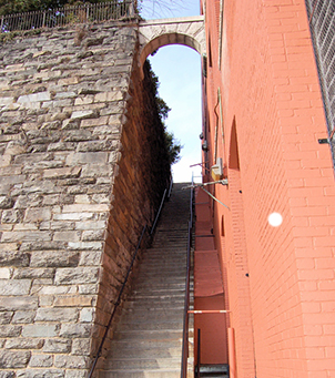 Exorcist Steps in DC