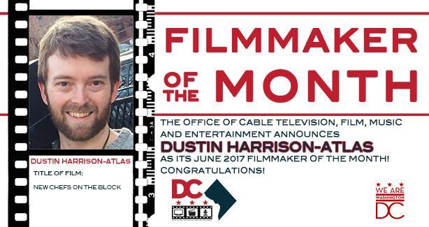June 2017 Filmmaker of the Month - Dustin Harrison-Atlas