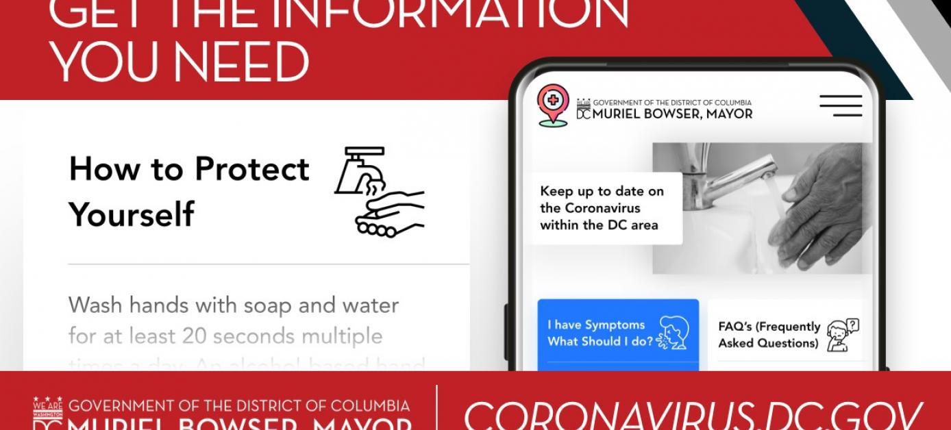 Find Coronavirus information